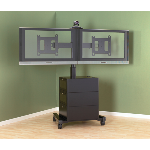 Large Flat Panel Mobile Cart (without interface) | Legrand AV Brands