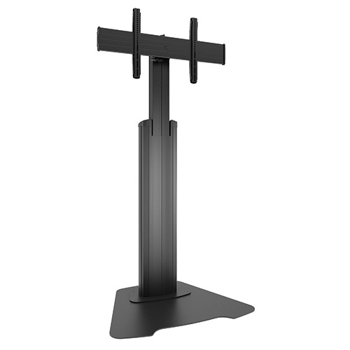 Large Fusion™ Manual Height Adjustable Floor AV Stand