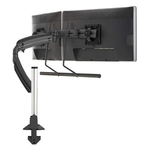 Kontour™ K1C Dynamic Column Mount, Dual Monitor Array