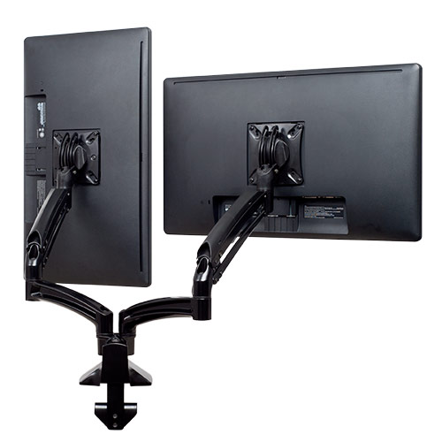 Kontour™ K1D Dual Monitor Dynamic Desk Mount, Reduced Height