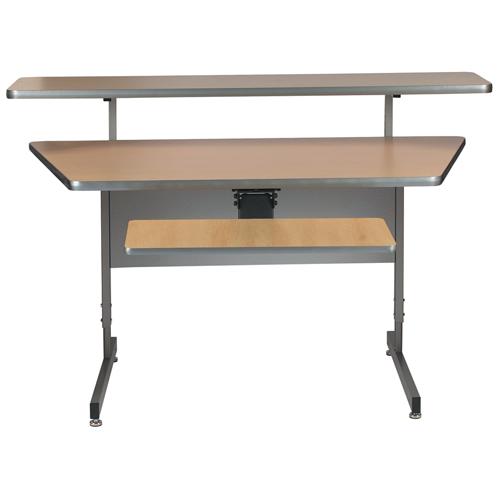 Angled Center Desks For Config U Raxx System Legrand Av Brands