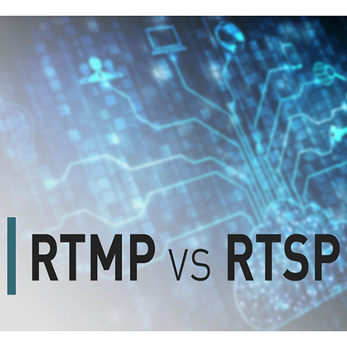 Basic pattern illustration with RTMP vs RTSP in print