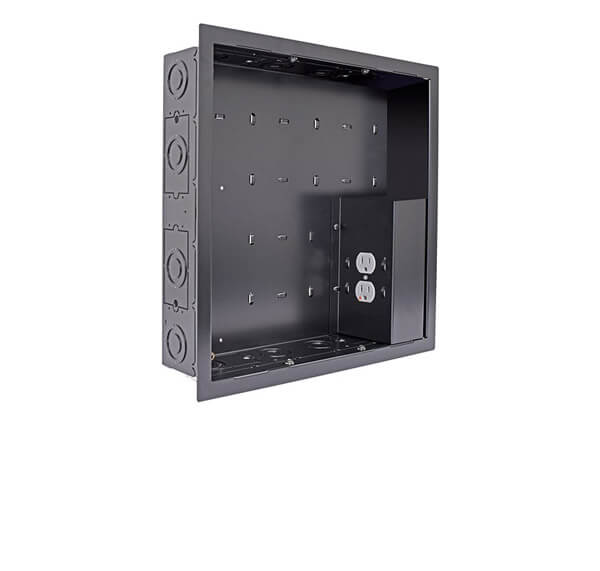 In-Wall Storage Solutions with Power & Surge