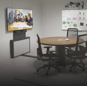 Meeting room with Tempo mounting solution