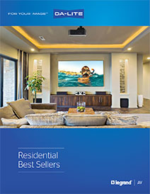 Residential Best Sellers Brochure Cover